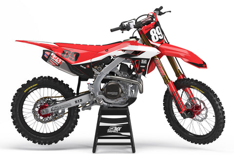 MX23 Red Graphic Kit for Honda's