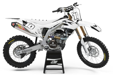 Kawasaki MX8 Graphic Kit White