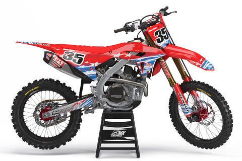 StarsnStripes Graphic Kit for Honda's
