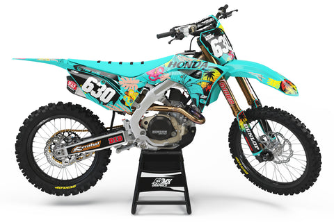 Tropical Series Graphic Kit for Honda's