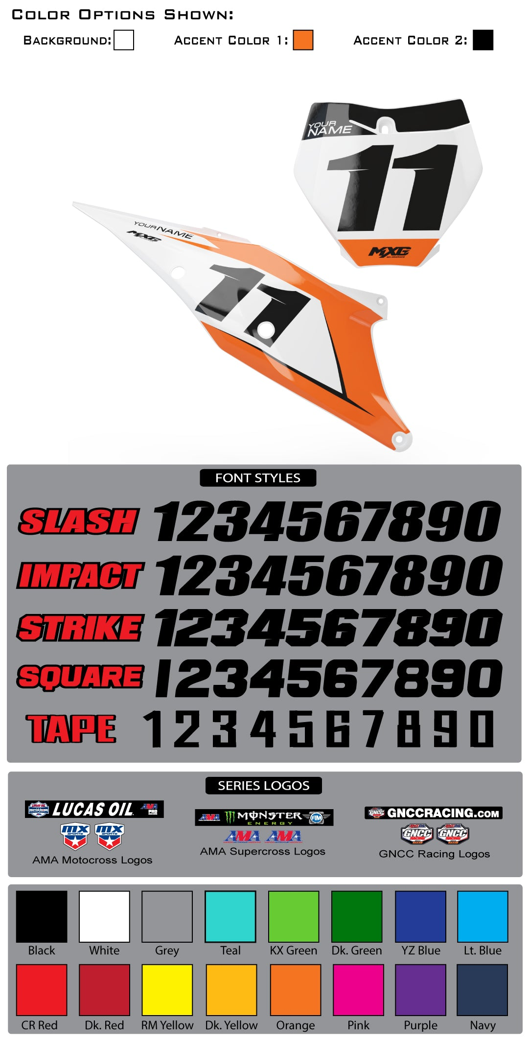 KTM Factory Series Backgrounds