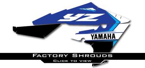 Yamaha Factory Shroud Graphics