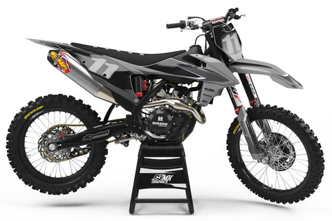KTM Factory 2.0 Grey Graphic Kit