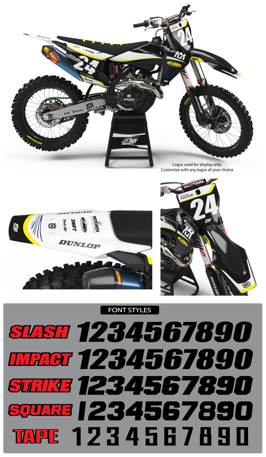 Husqvarna MX 15 Graphic Kit