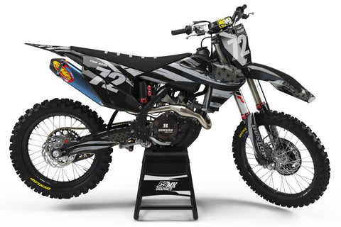 Husqvarna MX 6 Black Graphic Kit