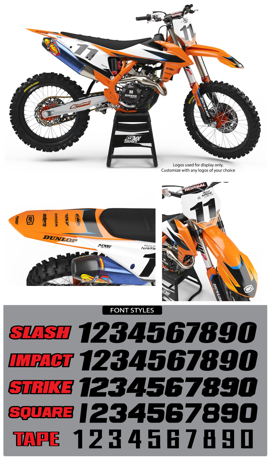 KTM Factory 2.0 Graphic Kit
