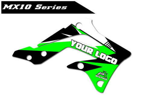 Kawasaki MX10 Shroud Graphics