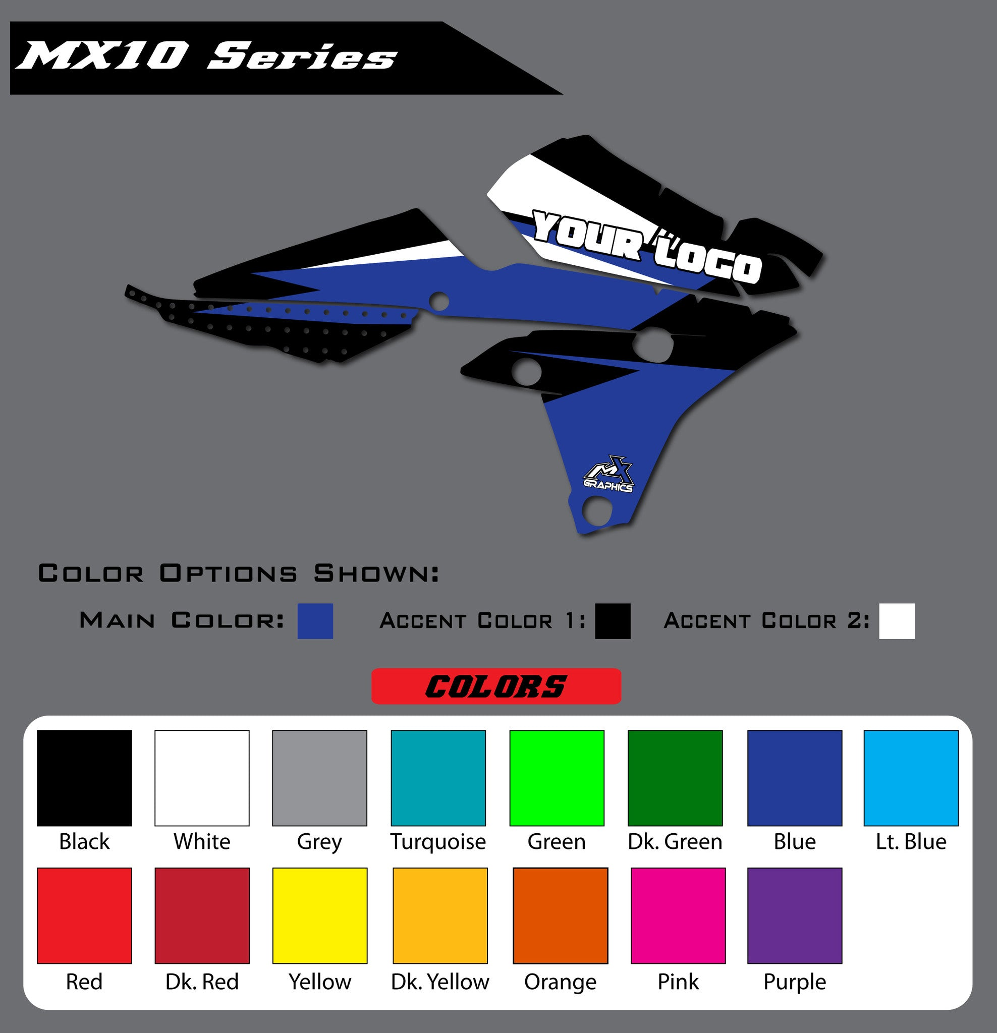Yamaha MX10 Shroud Graphics