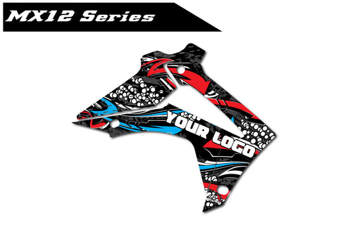 Honda MX12 Shroud Graphics