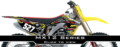 Suzuki MX 12 Graphic Kit