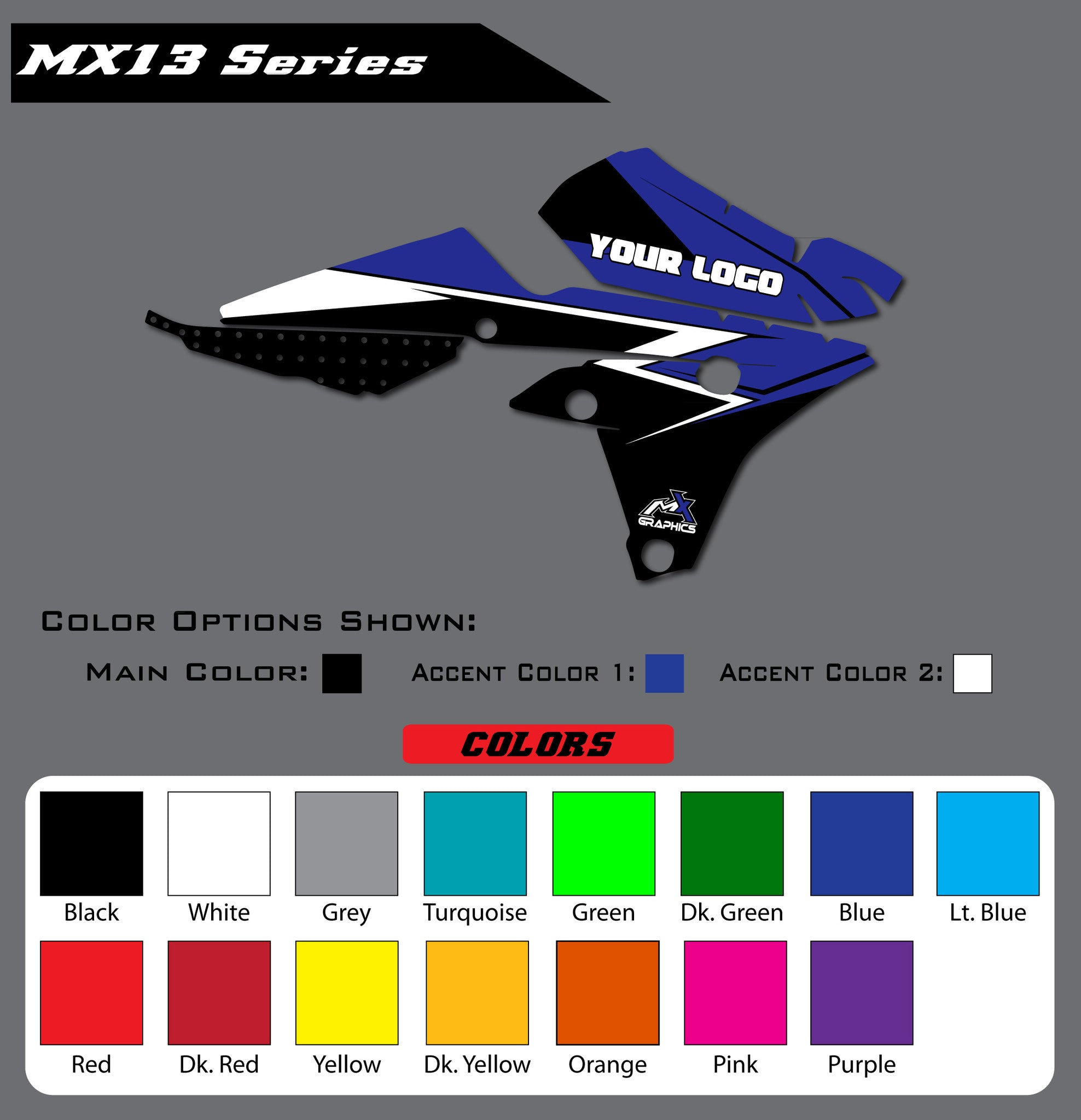 Yamaha MX13 Shroud Graphics
