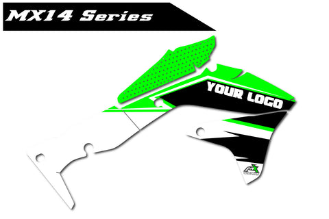 Kawasaki MX14 Shroud Graphics