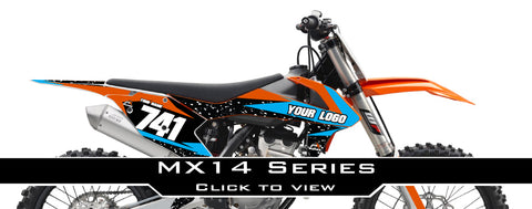 KTM MX14 Graphic Kit