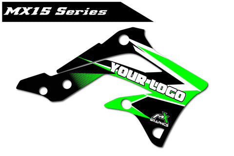 Kawasaki MX15 Shroud Graphics