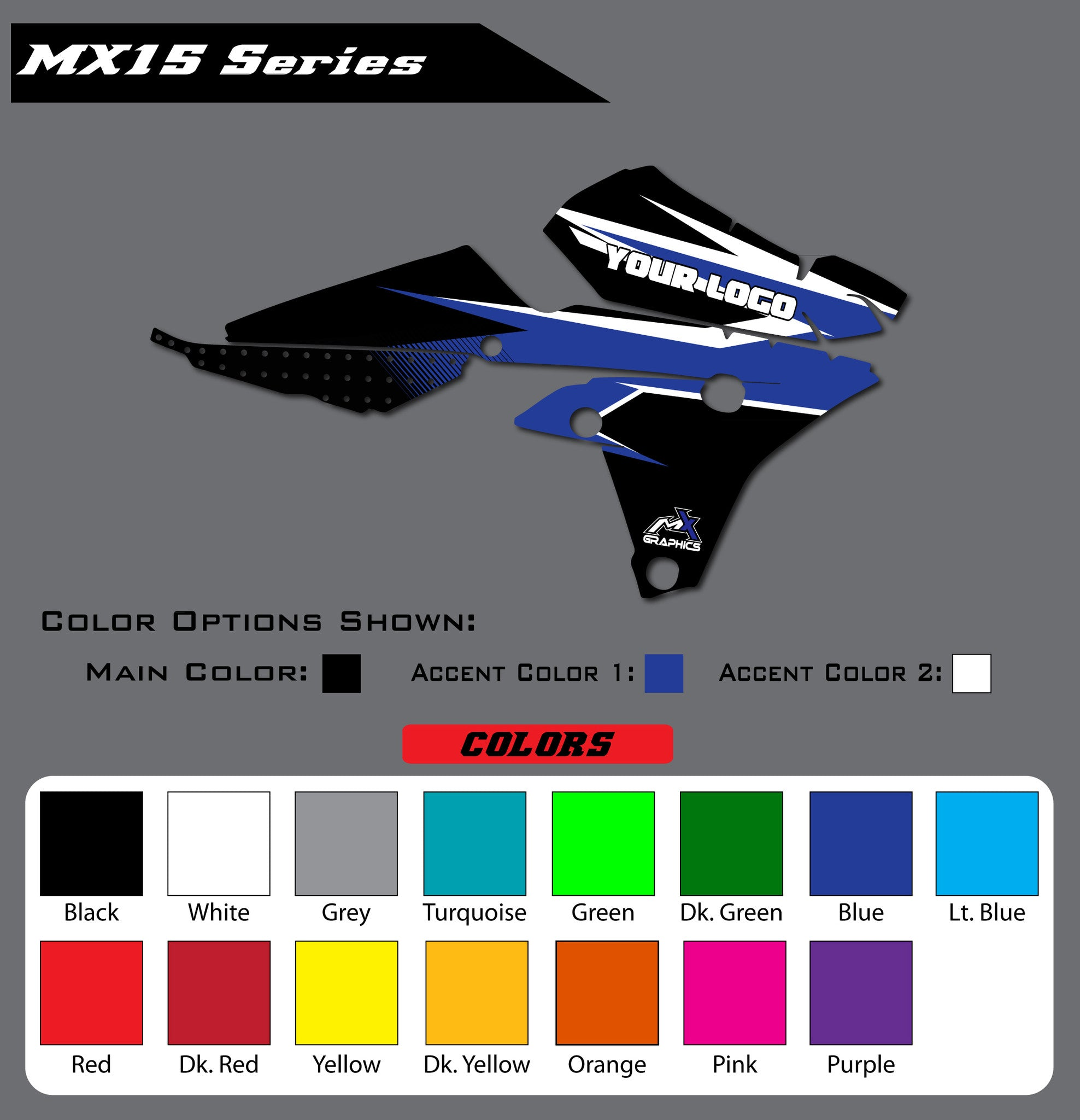 Yamaha MX15 Shroud Graphics