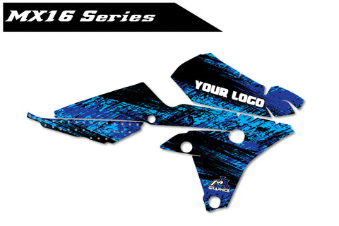 Yamaha MX16 Shroud Graphics