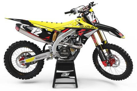 Suzuki MX 16 Graphic Kit Black