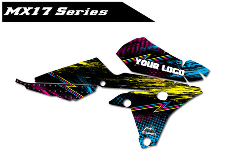Yamaha MX17 Shroud Graphics