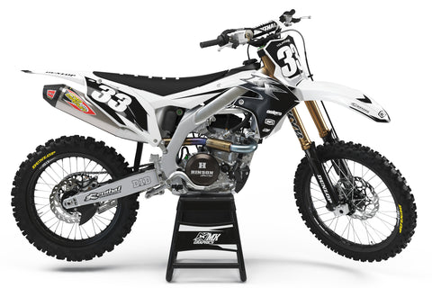 Kawasaki MX17 Graphic Kit White