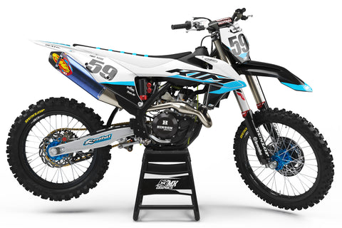 KTM MX23 Graphic Kit White