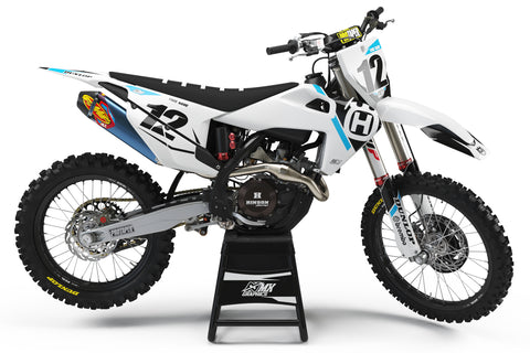 Husqvarna MX 24 Graphic Kit White