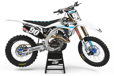MX27 White Graphic Kit for Honda's
