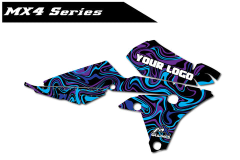 Yamaha MX4 Shroud Graphics
