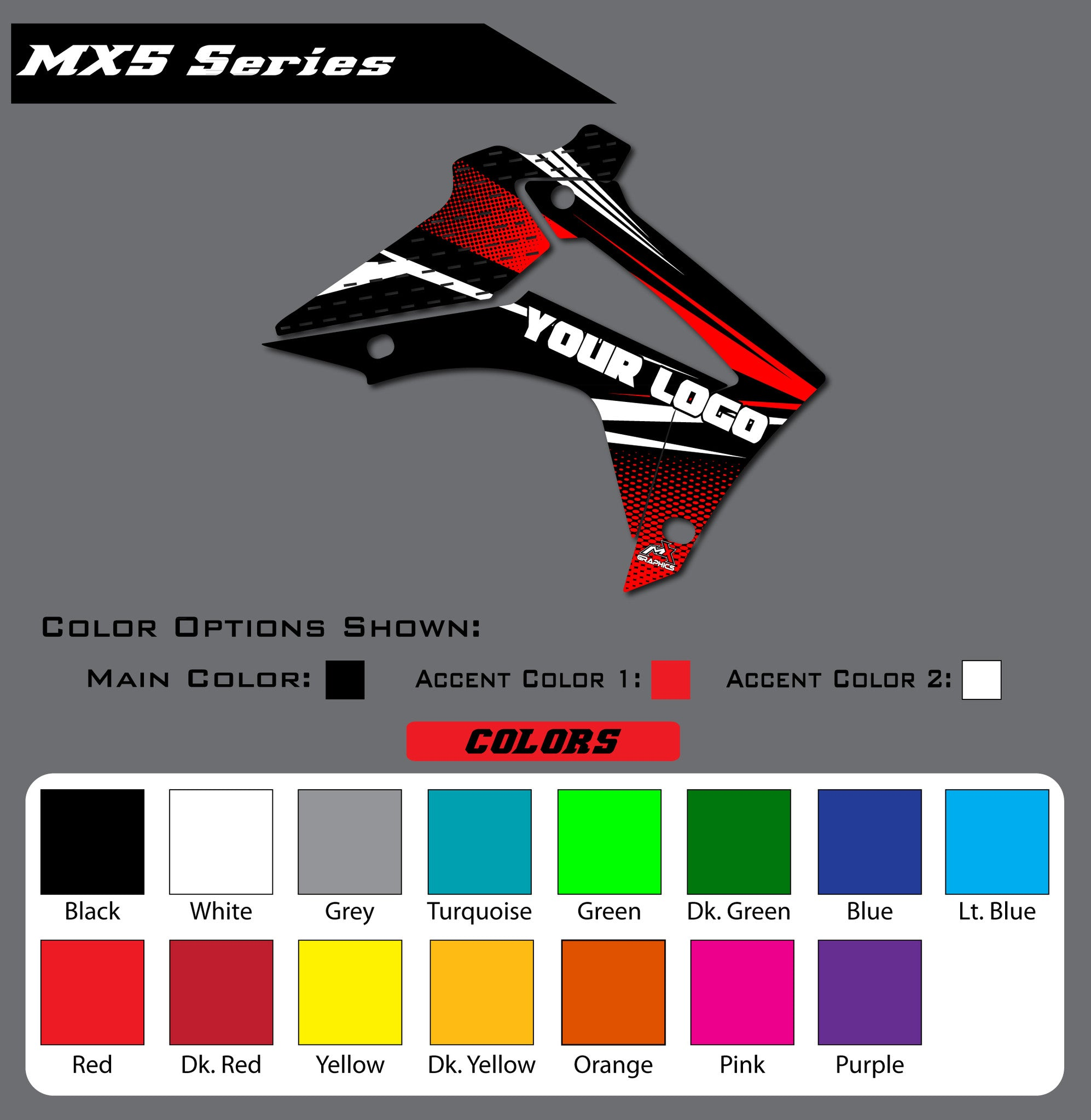 Honda MX5 Shroud Graphics