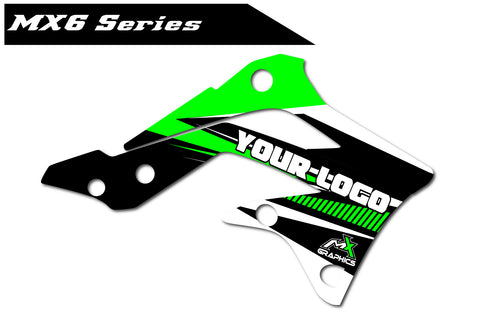 Kawasaki MX6 Shroud Graphics
