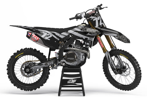 MX6 Black Graphic Kit for Honda's