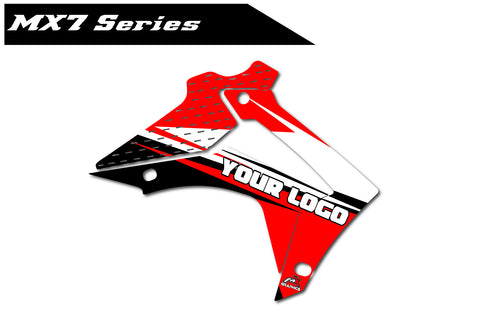 Honda MX7 Shroud Graphics