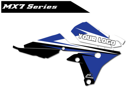 Yamaha MX7 Shroud Graphics