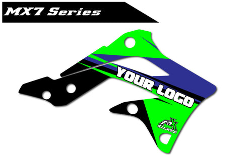 Kawasaki MX7 Shroud Graphics