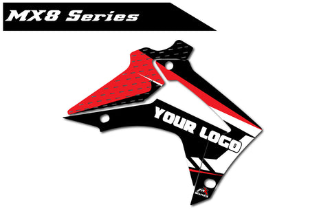Honda MX8 Shroud Graphics