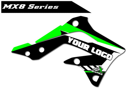 Kawasaki MX8 Shroud Graphics