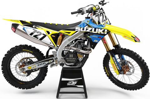 Suzuki Pro Series Graphic Kit