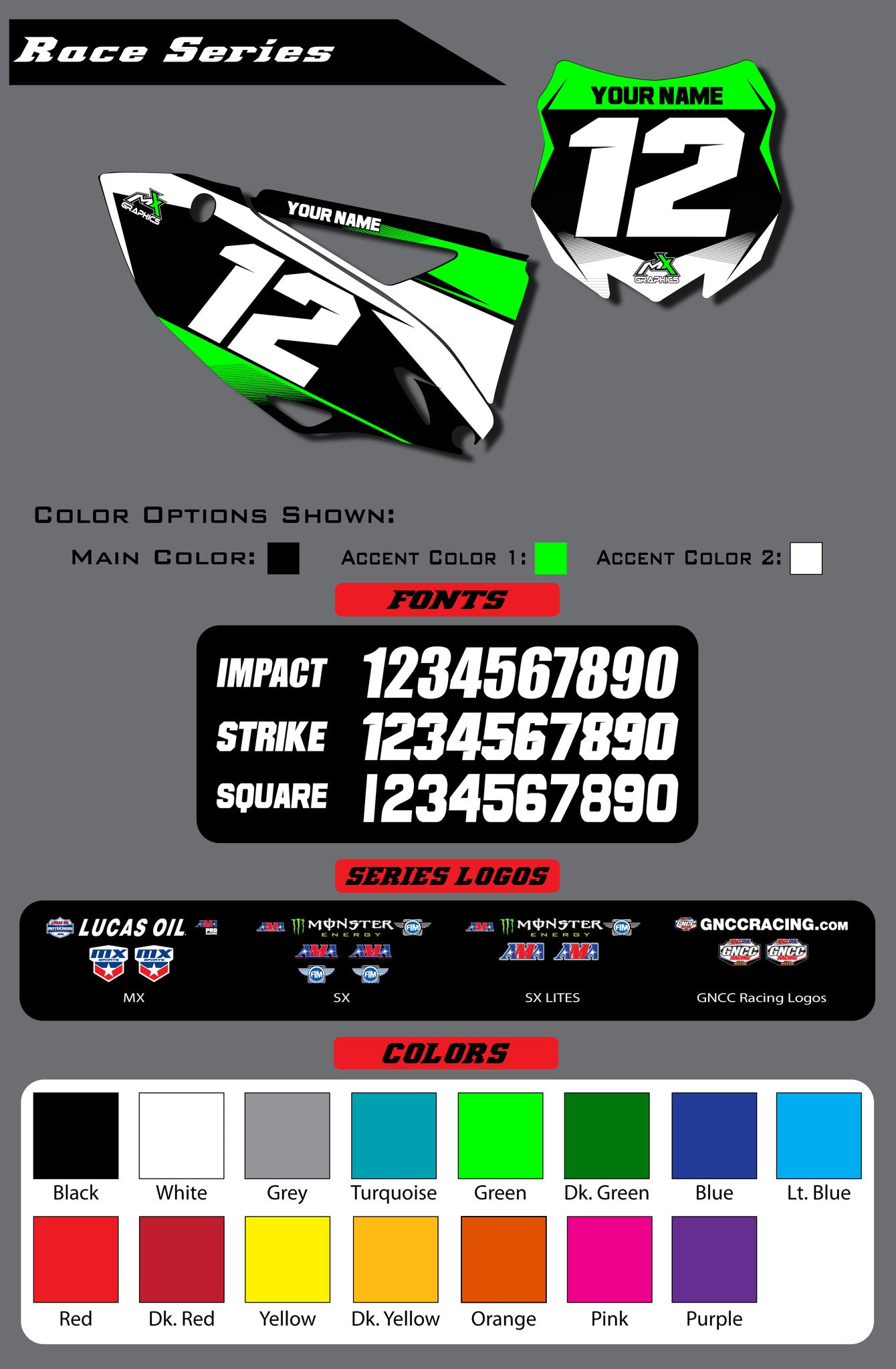 Kawasaki Race Series Backgrounds