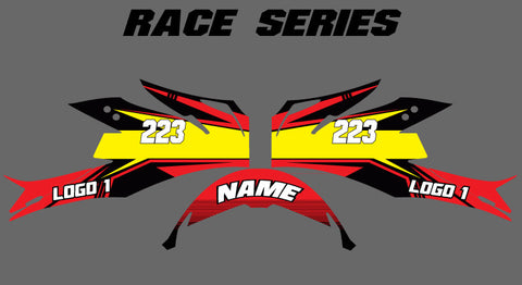 Race Series Helmet Wrap