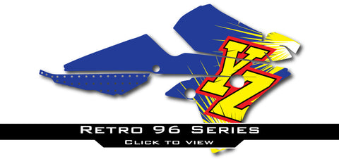 Yamaha Retro 96 Shroud Graphics