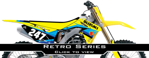Suzuki Retro Graphic Kit