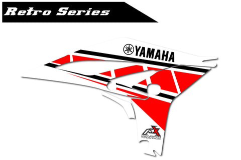 Yamaha Retro Shroud Graphics