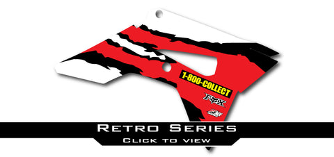 Honda Retro Shroud Graphics