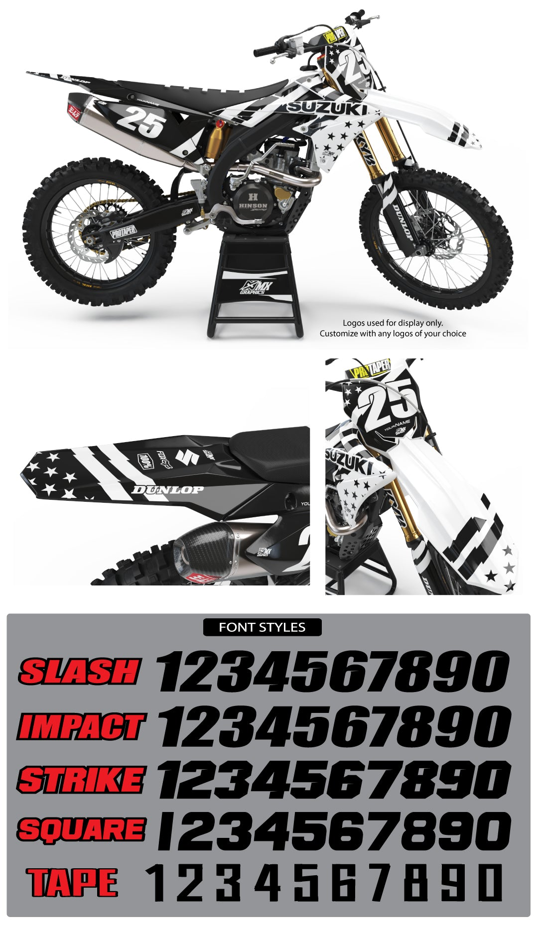 Suzuki MX 14 Graphic Kit
