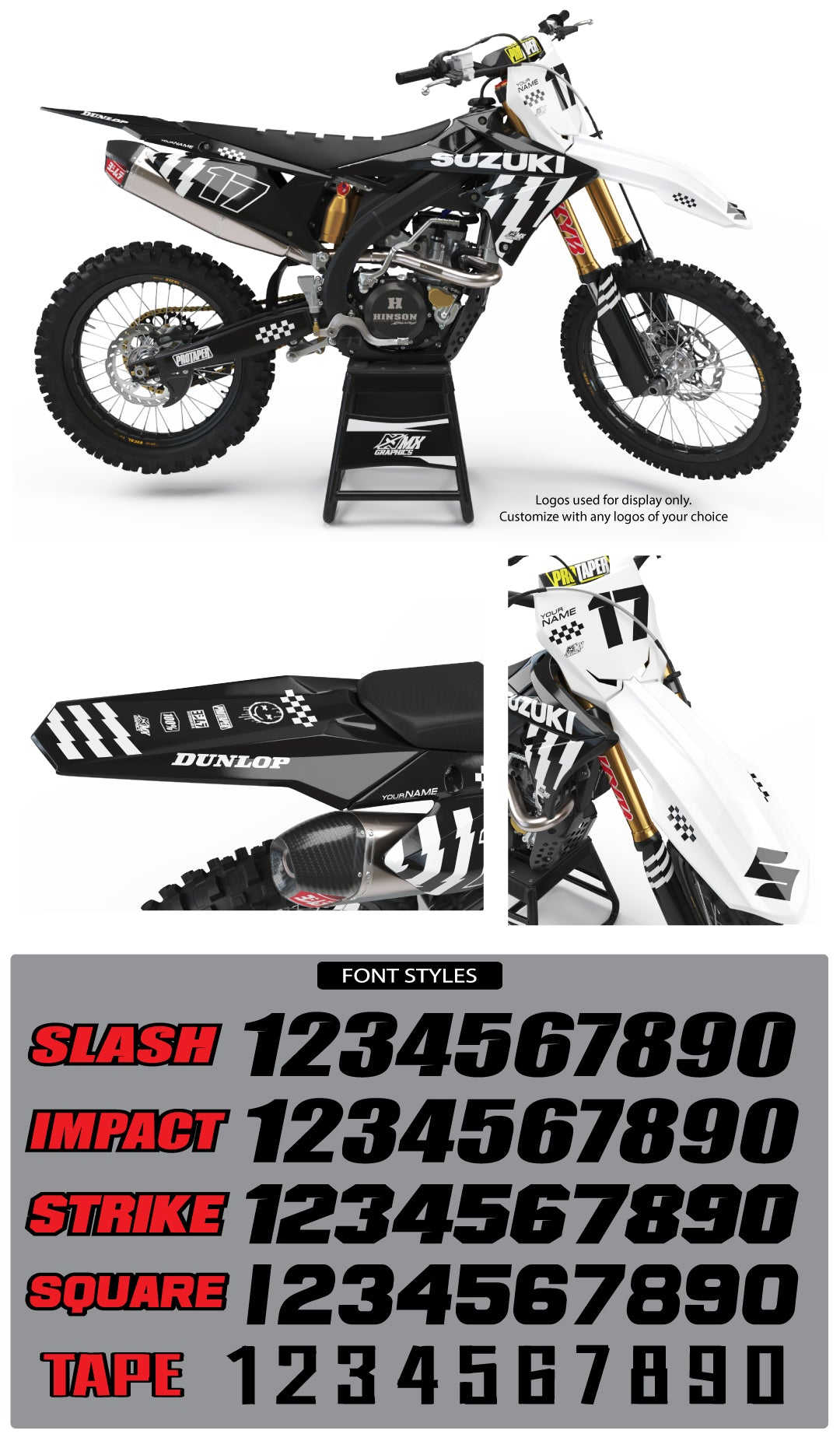 Suzuki MX 20 Graphic Kit