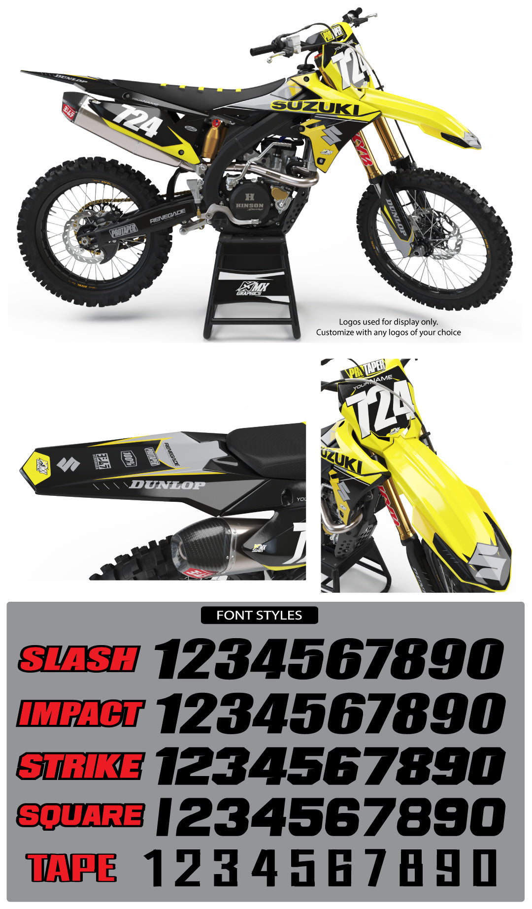 Suzuki MX 21 Graphic Kit