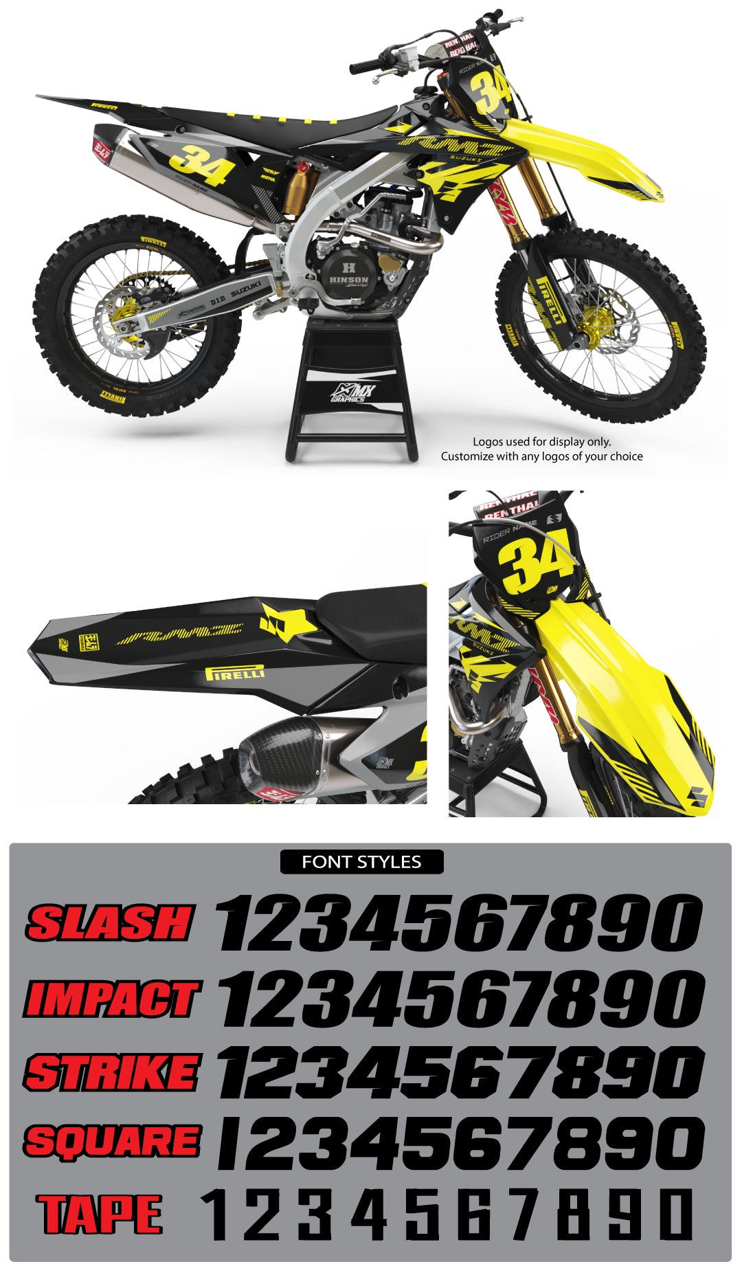 Suzuki MX 26 Graphic Kit