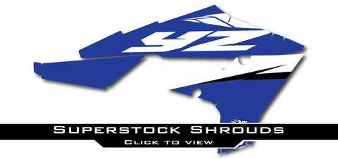 Yamaha Superstock Shroud Graphics