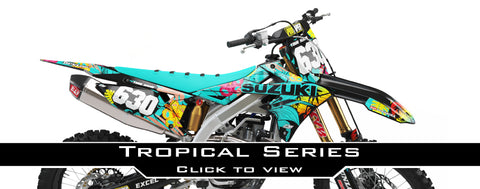 Suzuki Tropical Series Graphic Kit