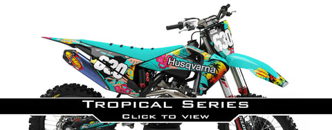 Husqvarna Tropical Graphic Kit