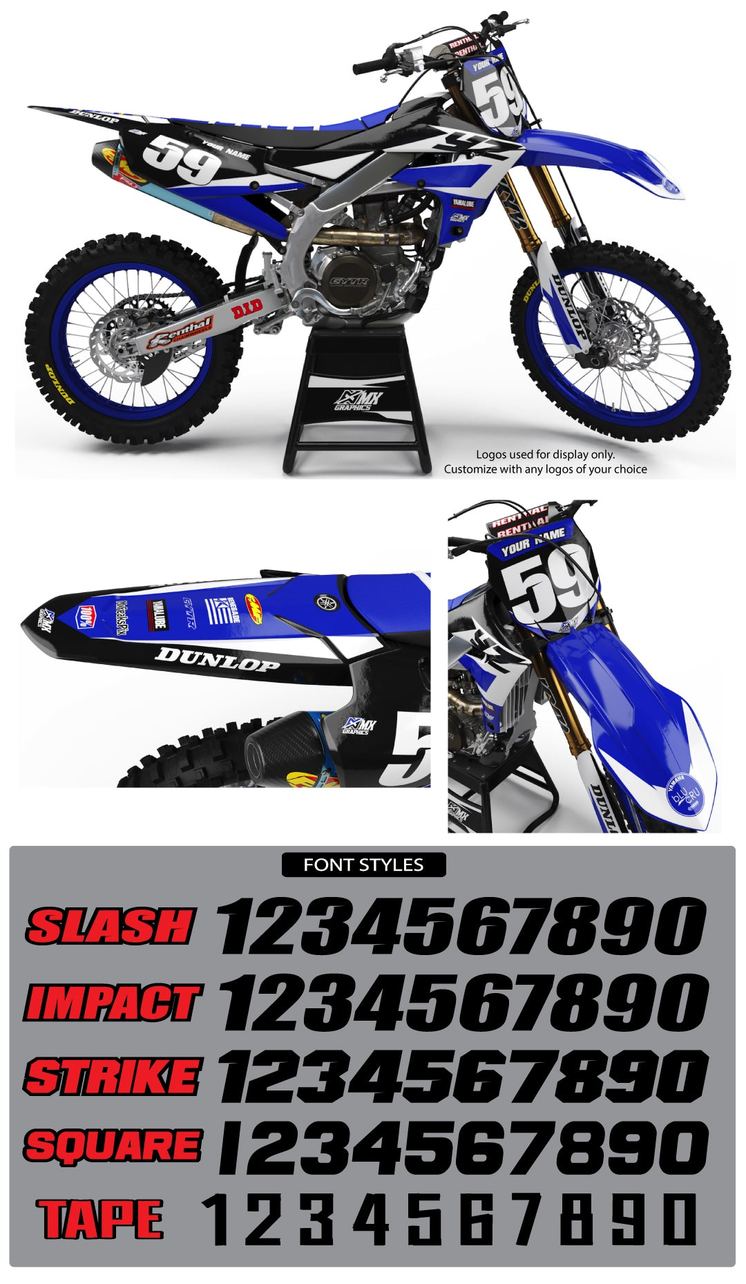 Yamaha MX23 Graphic Kit